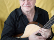 Two time oscar winning composer Gustavo Santaolalla with his guitar. Toronto, ON. February 4, 2014. Nick Kozak/For the Toronto Star.