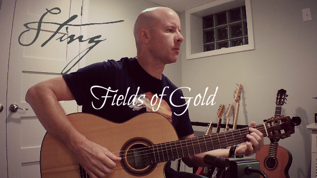 Sting Fields Of Gold Instrumental For Guitar Tab