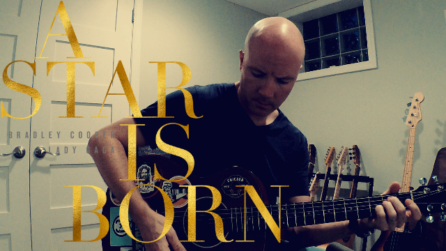 A Star Is Born: Shallow (guitar instrumental) + TAB