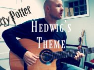 harry potter - hedwig's theme - classical guitar