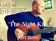 Game of Thrones: The Night King (part three) for guitar