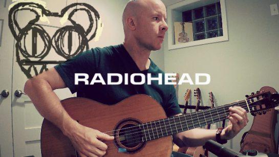 Radiohead: Codex (fingerstyle guitar)