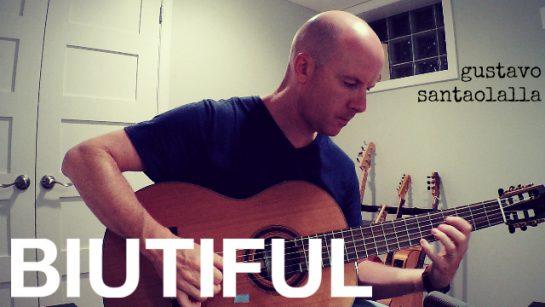 Gustavo Santaolalla: Rein (Biutiful)   fingerstyle guitar