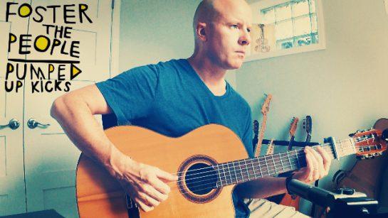 Pumped Up Kicks   fingerstyle guitar + TAB