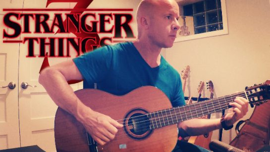 Stranger Things (Season 3): The First I Love You   fingerstyle guitar