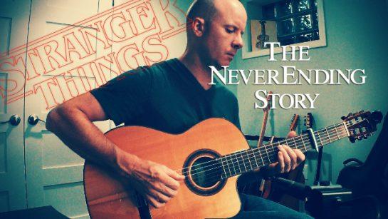 Stranger Things (Season 3): The NeverEnding Story | fingerstyle guitar