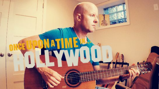 Once Upon a Time in Hollywood: Miss Lily Langtry   fingerstyle guitar