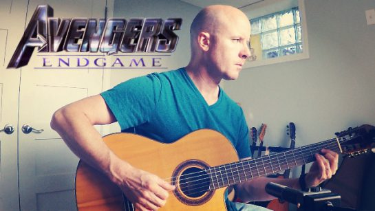 Avengers: Endgame - The Real Hero   fingerstyle guitar + TAB