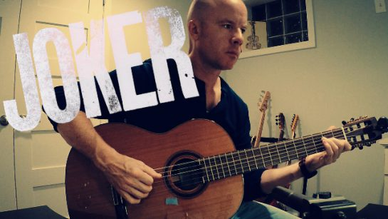 Joker: Bathroom Dance (Hildur Guðnadóttir) fingerstyle guitar